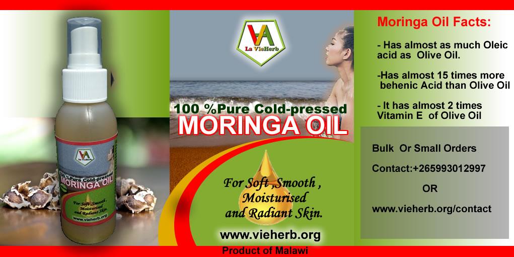 La vieherb_moringa Oil_flyer