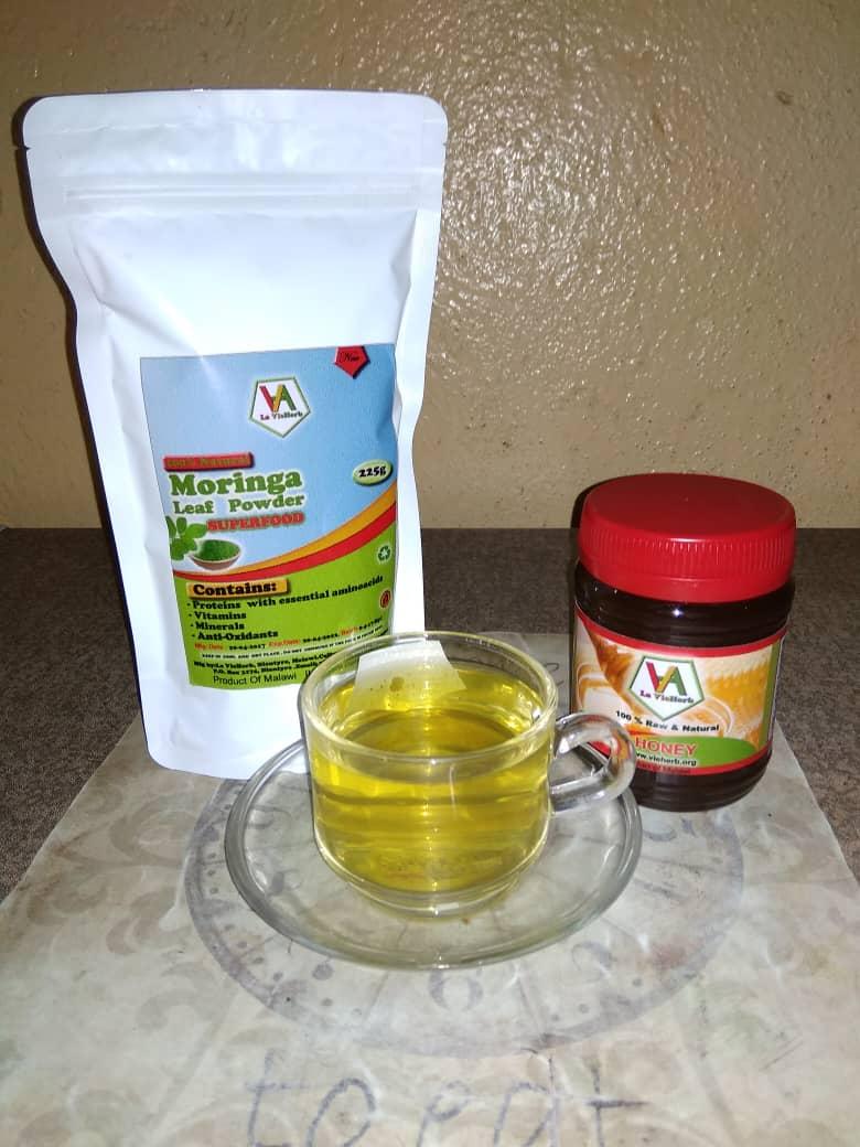 La_Vieherb_Moringa_tea_powder